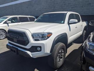 Used 2018 Toyota Tacoma 4x4 Double Cab V6 TRD Off-Road 6A for sale in Surrey, BC