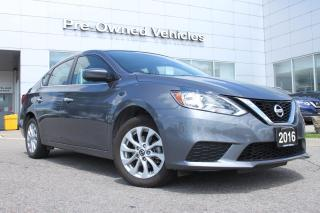 Used 2016 Nissan Sentra 1.8 SV ONE OWNER ACCIDENT FREE TRADE WITH ONLY 41827 KMS. NISSAN CERTIFIED PREOWNED! for sale in Toronto, ON