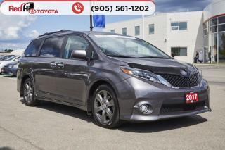 Used 2017 Toyota Sienna SE 8 Passenger for sale in Hamilton, ON