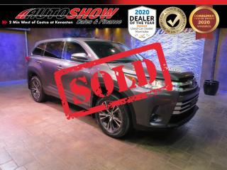 Used 2019 Toyota Highlander LE AWD V6 - B.Up Cam, B.tooth, Safety Sense for sale in Winnipeg, MB