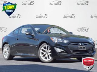 Used 2016 Hyundai Genesis Coupe 3.8 Premium MANUAL   LOW KM   PREMIUM   2-DOOR   LEATHER   GPS   HEATED SEATS for sale in Waterloo, ON