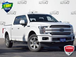 Used 2019 Ford F-150 Lariat CREW CAB | HEATED/COOLED SEATS | LEATHER | MOONROOF | TRAILER HITCH | LOW KM for sale in Waterloo, ON