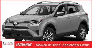 Used 2016 Toyota RAV4 LE UPGRADE - BACKUP CAMERA - SILVER ROOF RAILS for sale in Stouffville, ON
