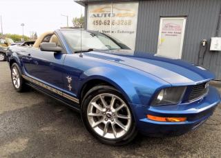 Used 2009 Ford Mustang **CONVERTIBLE,MAGS,A/C,CAMERA** for sale in Longueuil, QC