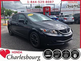 Used 2015 Honda Civic LX ***47 111 KM***AUCUN ACCIDENT*** for sale in Charlesbourg, QC