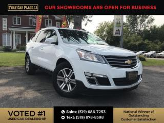 Used 2016 Chevrolet Traverse 2LT Leather-Sunroof-Navi-Back up Cam for sale in London, ON