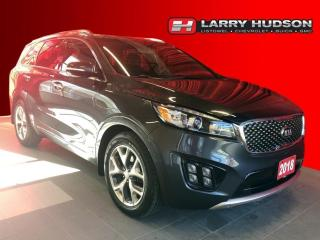 Used 2018 Kia Sorento 3.3L SX AWD | V6 | Navigation | Sunroof | 7 Passenger | One Owner for sale in Listowel, ON