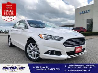Used 2016 Ford Fusion SE|Leather|Navi|HTD seats|Remote start|Low Kms!!!| for sale in Leamington, ON