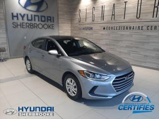 Used 2017 Hyundai Elantra L+MANUELLE+BANCS CHAUFF+GRP ÉLECTRIQUE for sale in Sherbrooke, QC