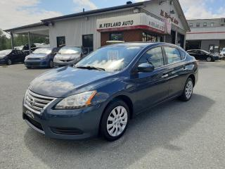 Used 2014 Nissan Sentra Berline 4 portes CVT S for sale in Sherbrooke, QC