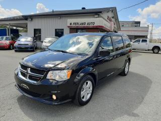 Used 2019 Dodge Grand Caravan Crew 2RM for sale in Sherbrooke, QC