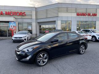 Used 2015 Hyundai Elantra GLS **TOIT OUVRANT, SIEGE CHAUFFANT, A/C** for sale in Mcmasterville, QC