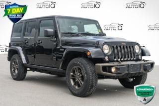 Used 2016 Jeep Wrangler Unlimited Sahara 75TH ANNIVERSARY SAHARA for sale in Innisfil, ON