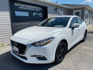 Used 2017 Mazda MAZDA3 GX for sale in Kingston, ON