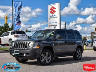 Used 2015 Jeep Patriot High Altitude 4x4 ~Heated Leather ~Power Moonroof for sale in Barrie, ON