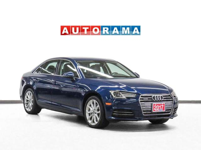2017 Audi A4 Quattro Komfort Plus Nav Leather Sunroof Bcam
