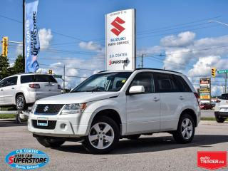 Used 2011 Suzuki Grand Vitara JX 4x4 ~Fog Lamps ~Alloy Wheels ~VERY CLEAN! for sale in Barrie, ON