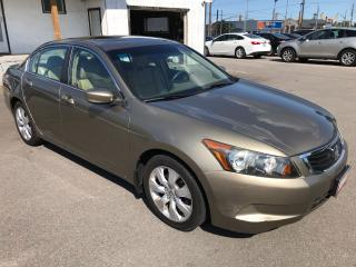 Used 2008 Honda Accord EX-L ** HTD LEATH, SUNROOF, AUX. IN ** for sale in St Catharines, ON