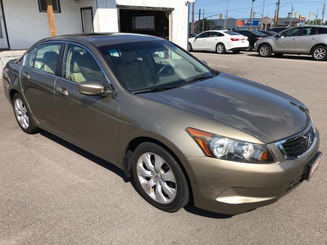 2008 Honda Accord EX-L ** HTD LEATH, SUNROOF, AUX. IN **
