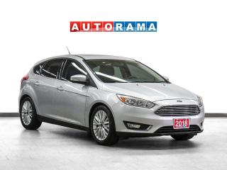 Used 2018 Ford Focus Titanium Leather Sunroof Backup Camera for sale in Toronto, ON