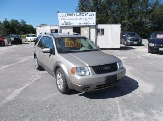 Used 2006 Ford Freestyle SEL 3 ROW for sale in Elmvale, ON