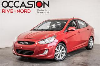 Used 2013 Hyundai Accent GLS TOIT.OUVRANT+MAGS+BLUETOOTH for sale in Boisbriand, QC
