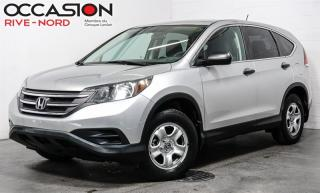 Used 2013 Honda CR-V AWD LX- GARANTIE 1 AN INCLUSE!!! for sale in Boisbriand, QC