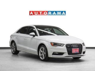 Used 2016 Audi A3 Quattro Komfort Leather Sunroof for sale in Toronto, ON