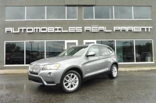 Used 2013 BMW X3 xDrive 28i - TOIT PANO - VOLANT CHAUFFANT - for sale in Québec, QC