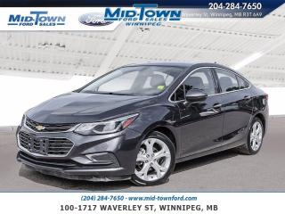 Used 2016 Chevrolet Cruze 4dr Sdn Auto Premier for sale in Winnipeg, MB