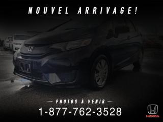 Used 2015 Honda Fit LX + AUTO + A/C + CRUISE + WOW! for sale in St-Basile-le-Grand, QC