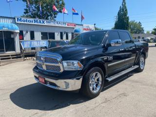 Used 2014 RAM 1500 Laramie-HEMI-4X4-ACCIDENT FREE for sale in Stoney Creek, ON