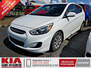 Used 2015 Hyundai Accent GL HB ** SIÈGES CHAUFFANTS + A/C for sale in St-Hyacinthe, QC