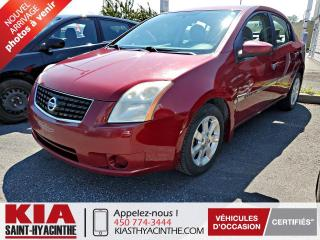 Used 2008 Nissan Sentra 2,0 S ** GR ÉLECTRIQUE + A/C for sale in St-Hyacinthe, QC