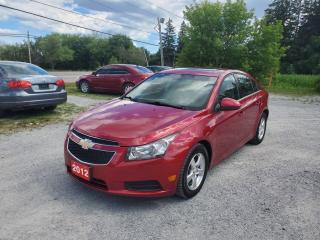 Used 2012 Chevrolet Cruze LT POWER SUNROOF LOW KMS CERTIFIED for sale in Stouffville, ON