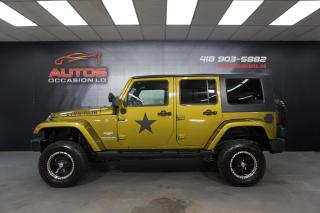 Used 2008 Jeep Wrangler UNLIMITED SAHARA AUTO FULL ÉQUIPÉ TRÈS BEAU LOOK for sale in Lévis, QC