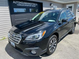 Used 2017 Subaru Outback 2.5I LIMITED W/TECH PKG for sale in Kingston, ON