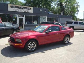 Used 2005 Ford Mustang for sale in Winnipeg, MB