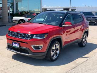 Used 2018 Jeep Compass LIMITED for sale in Tilbury, ON