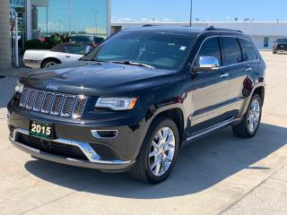 Used 2015 Jeep Grand Cherokee Summit ECODIESEL for sale in Tilbury, ON
