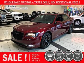 Used 2019 Chrysler 300 300S - No Accident / Pano Sunroof / Nav for sale in Richmond, BC