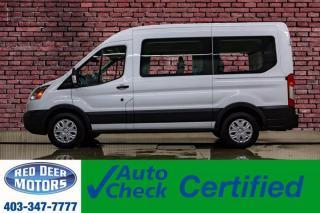 Used 2017 Ford Transit 150 XLT Med Roof 8 Passenger BCam for sale in Red Deer, AB
