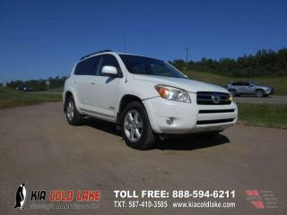Used 2008 Toyota RAV4 Limited 4dr 4WD 4-Door for sale in Cold Lake, AB