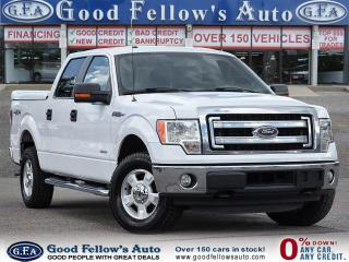Used 2014 Ford F-150 XLT SUPER CREW, 4WD, 6CYL 3.5L ECO, REARVIE CAMERA for sale in Toronto, ON