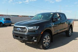 New 2020 Ford Ranger Supercrew 4X4 500A, 2.3L Ecoboost, Push Start/Stop, Heated Seats, Forward and Reverse Sensing System, Lane Keeping System, Pre-Collision Assist, Rear View Camera, Navigation for sale in Edmonton, AB