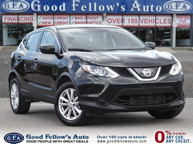 2018 Nissan Qashqai S MODEL, AWD, REARVIEW CAMERA, BLUETOOTH