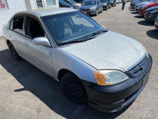 Used 2003 Honda Civic LX/ AUTO/ PWR GROUP/ COLD AC/ TINTED/ RUNS WELL! for sale in Scarborough, ON