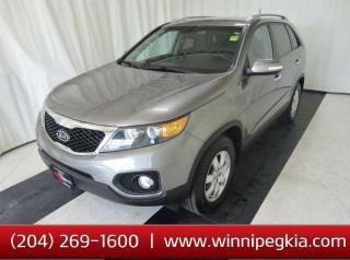 Used 2012 Kia Sorento LX FWD *Cruise*Bluetooth*Htd Seats* for sale in Winnipeg, MB