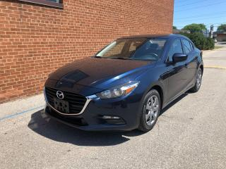 Used 2017 Mazda MAZDA3 GX/REAR VIEW CAMERA for sale in Oakville, ON