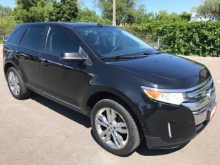 Used 2013 Ford Edge SEL ** NAV, BACK CAM, AUTOSTART, HTD LEATH ** for sale in St Catharines, ON